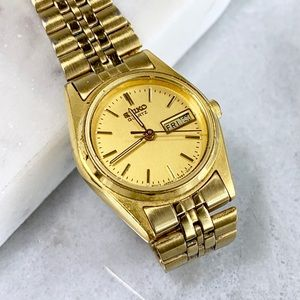 Seiko Women's Gold 80's Vintage Watch